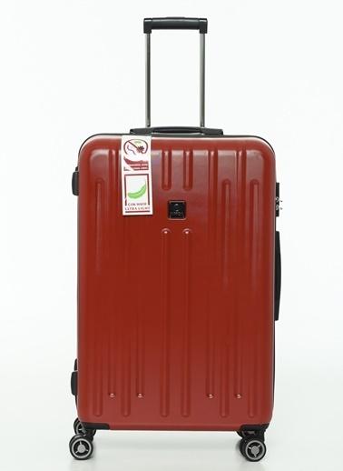 NİPPON 3'lü Set Valiz Kırmızı